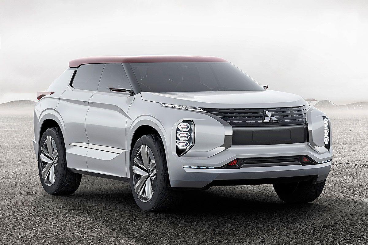 Mitsubishi Will In Zukunft Auf Allrad Suvs Mit Alternativen Antrieben Setzen Einen Ersten Ausblick Gibt Das Gt Phev Konzeptfahrzeuge Outlander Phev Auto Bild