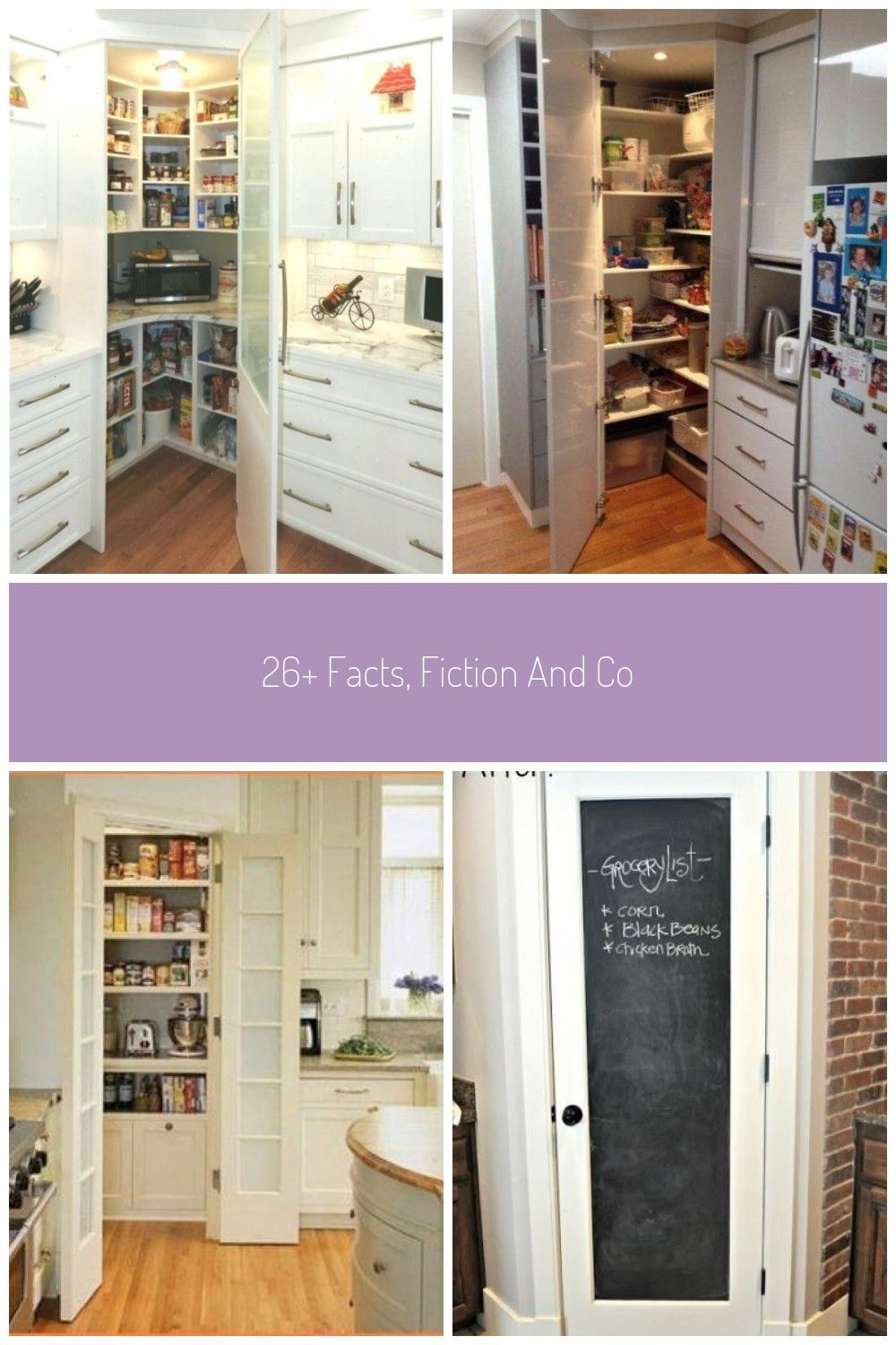 26+ Facts Fiction And Corner Pantry Ideas Small Kitchen 71 apikhome com Ecke co, #apikhome #...