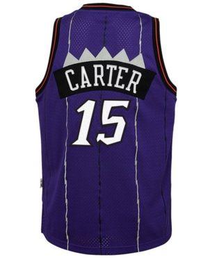 caff9bb5 adidas Vince Carter Toronto Raptors Soul Swingman Jersey, Big Boys (8-20) -  Purple S