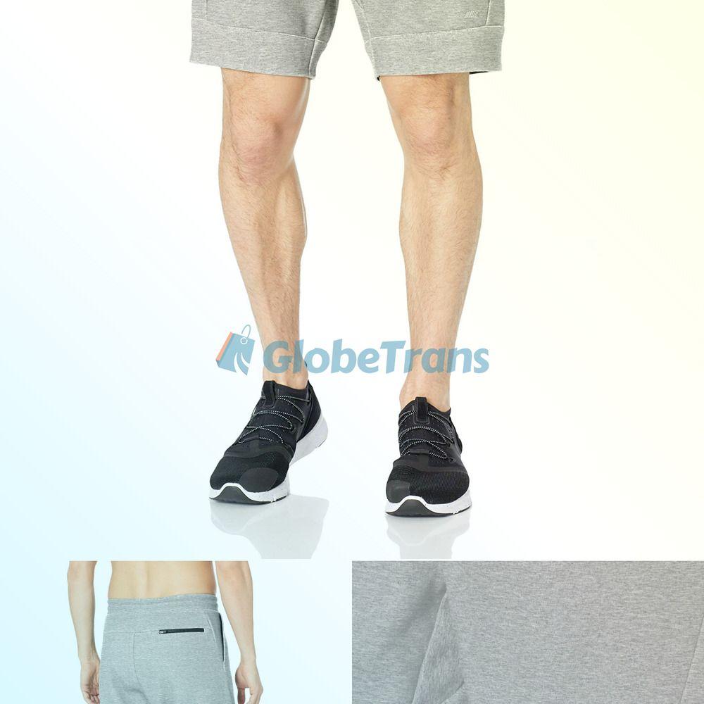 Essentials Mens Tech Fleece 9 Active Short