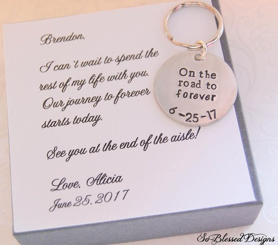 To Groom From Bride Grooms Gift Wedding Gift To Groom Etsy Wedding Day Gifts Wedding Keepsakes Wedding Gift Messages