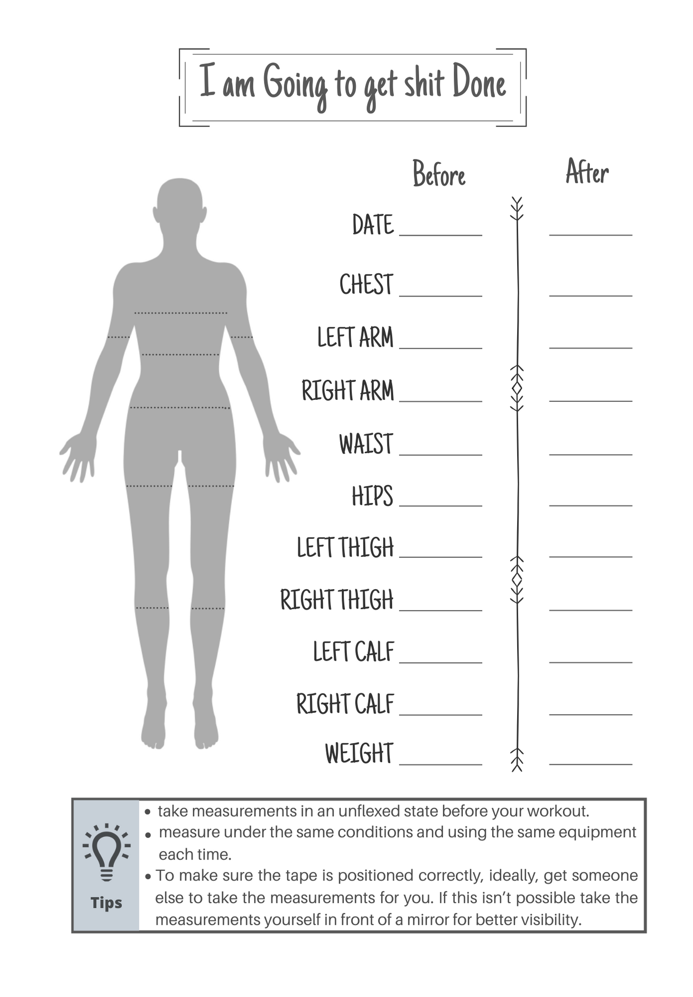 Pin On Weight And Measurement Tracker Journal Chart