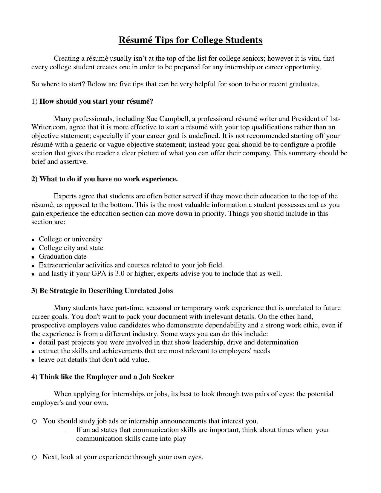 college student resume example sample httpwwwjobresumewebsite - Sample Resume Of Student