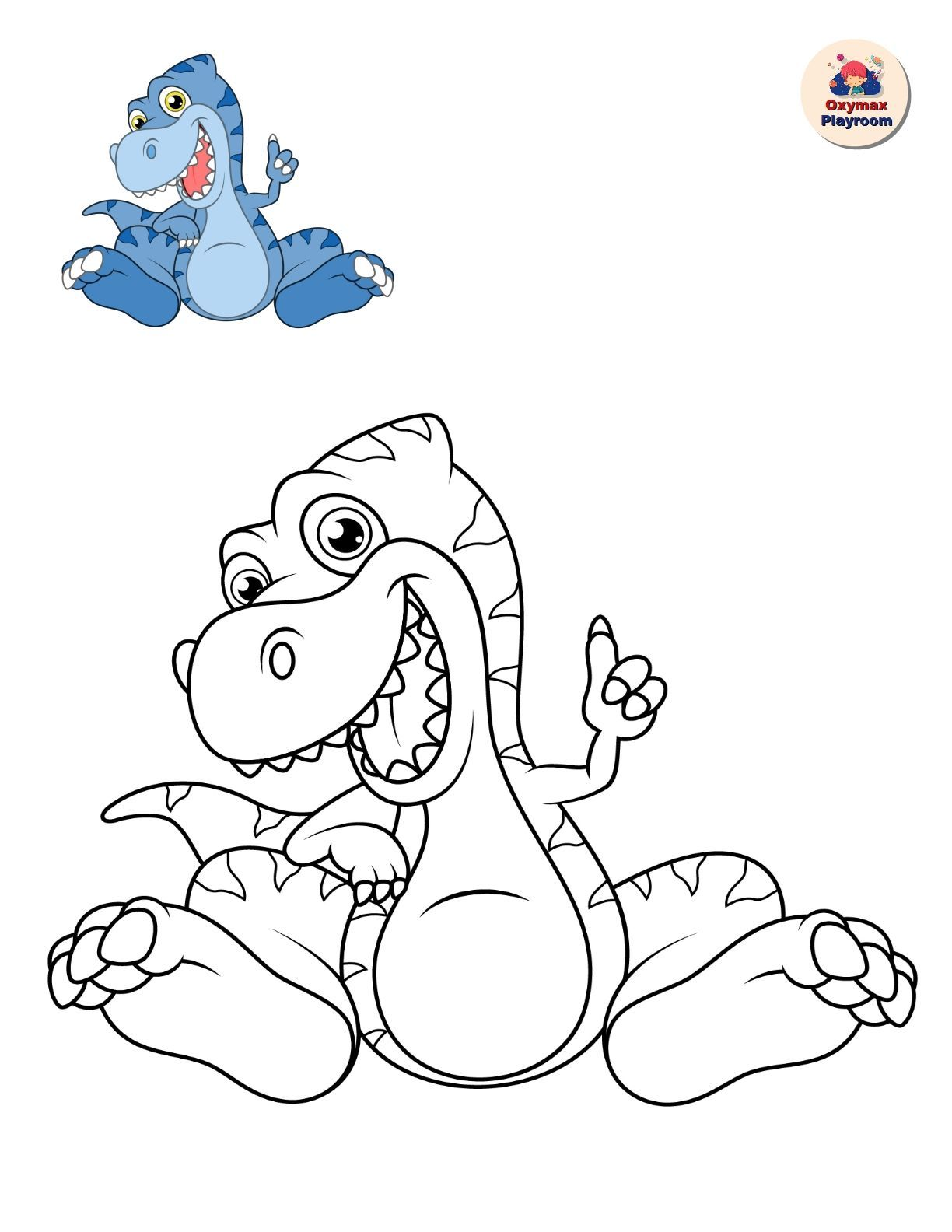 "Coloring pages for children ""Dinosaurs"" in 2020"