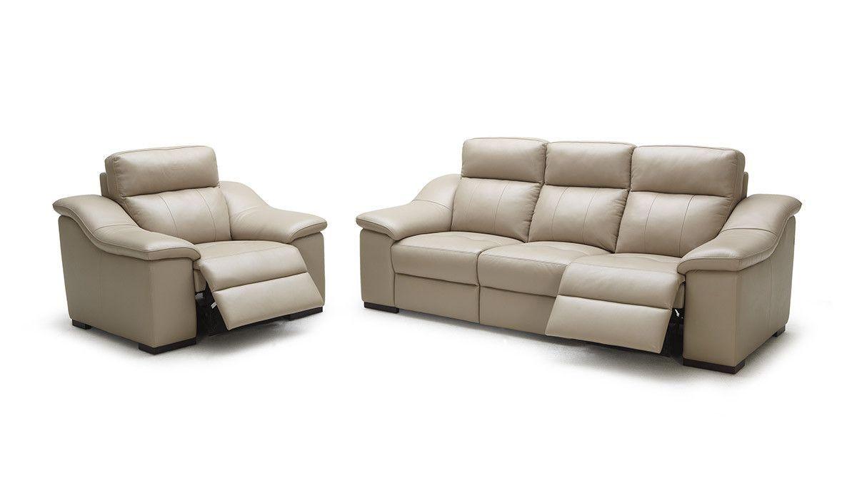 Divani Casa Saffron Modern Beige Leather Sofa Set Leather Sofa Set Leather Sofa Sofa Set