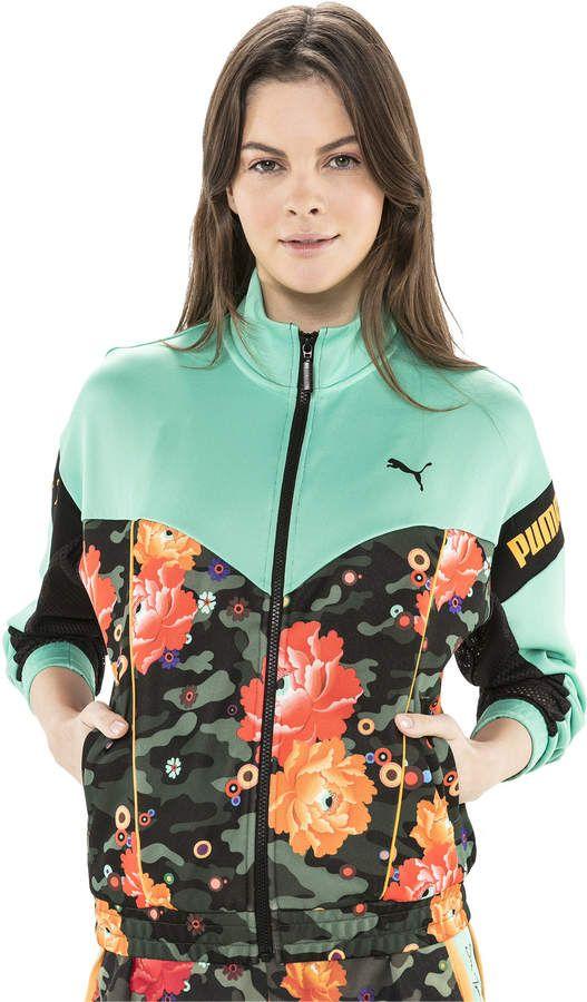 79bcd3120 PUMA x SUE TSAI XTG Womens Track Jacket in 2019   SueTsai   Hooded ...