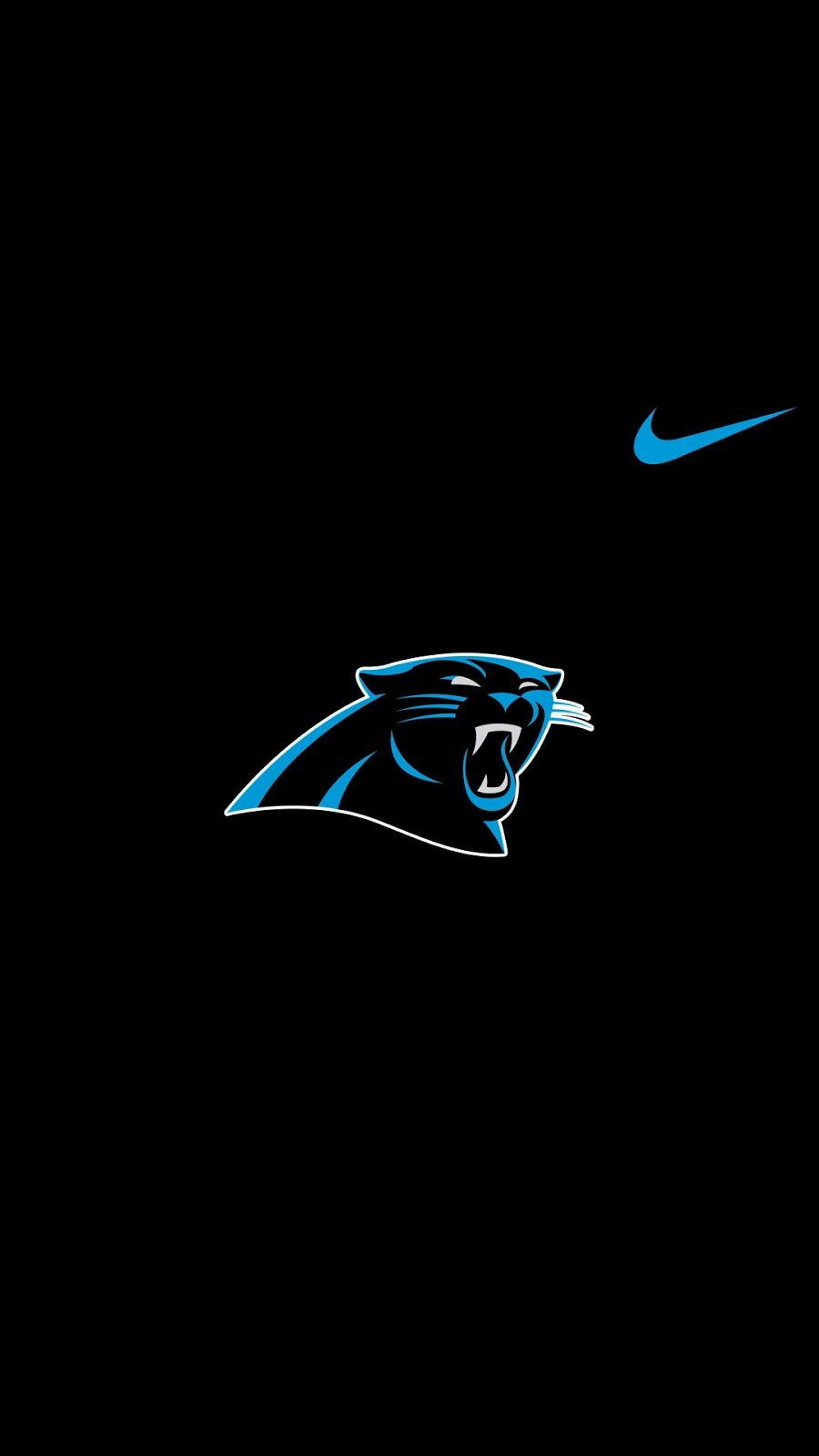 Nike Logo Hd Wallpapers For Iphone X Iphone Xr Iphone 11 Etc Andriblog001 In 2020 Carolina Panthers Wallpaper Carolina Panthers Panthers