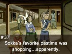 Random Avatar Facts: Archive