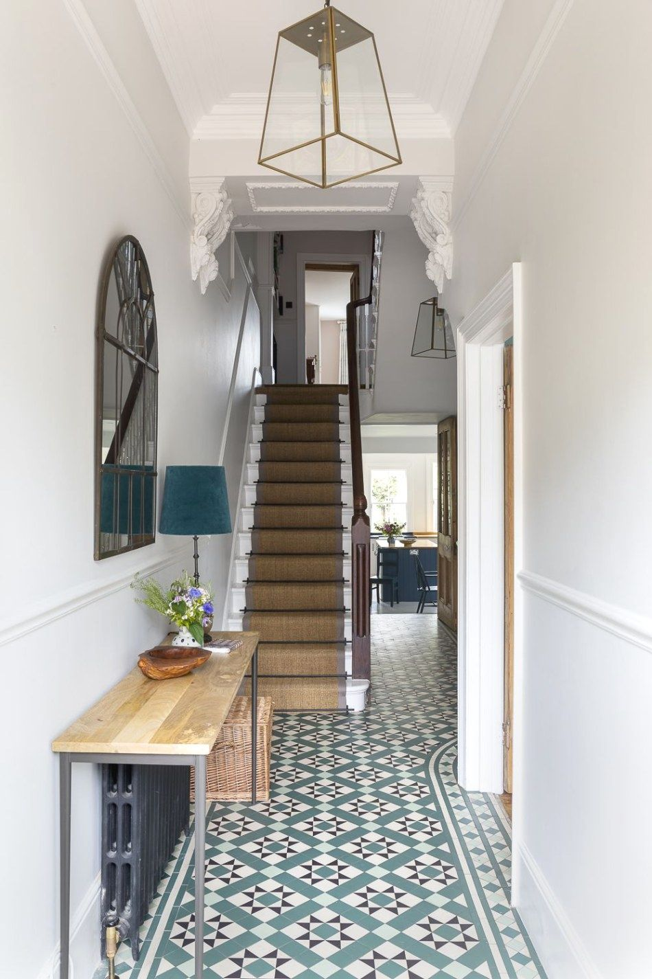 Need To Make Your Household Seem Like New Need To Improve The Attractiveness And Sale Ability Of Your Home In 2020 Hallway Designs Victorian Hallway Victorian Homes