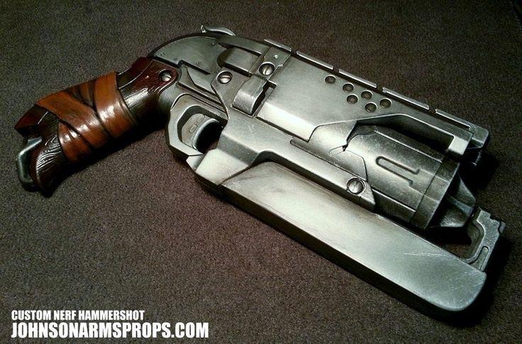 Performance Modified Wood Grip Nerf Maverick by MarcWF ...