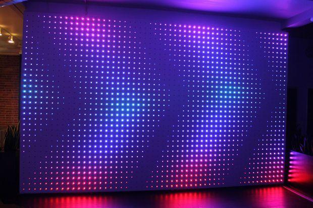 Make An Interactive Ipad Controlled Led Wall Led Wall Art Led