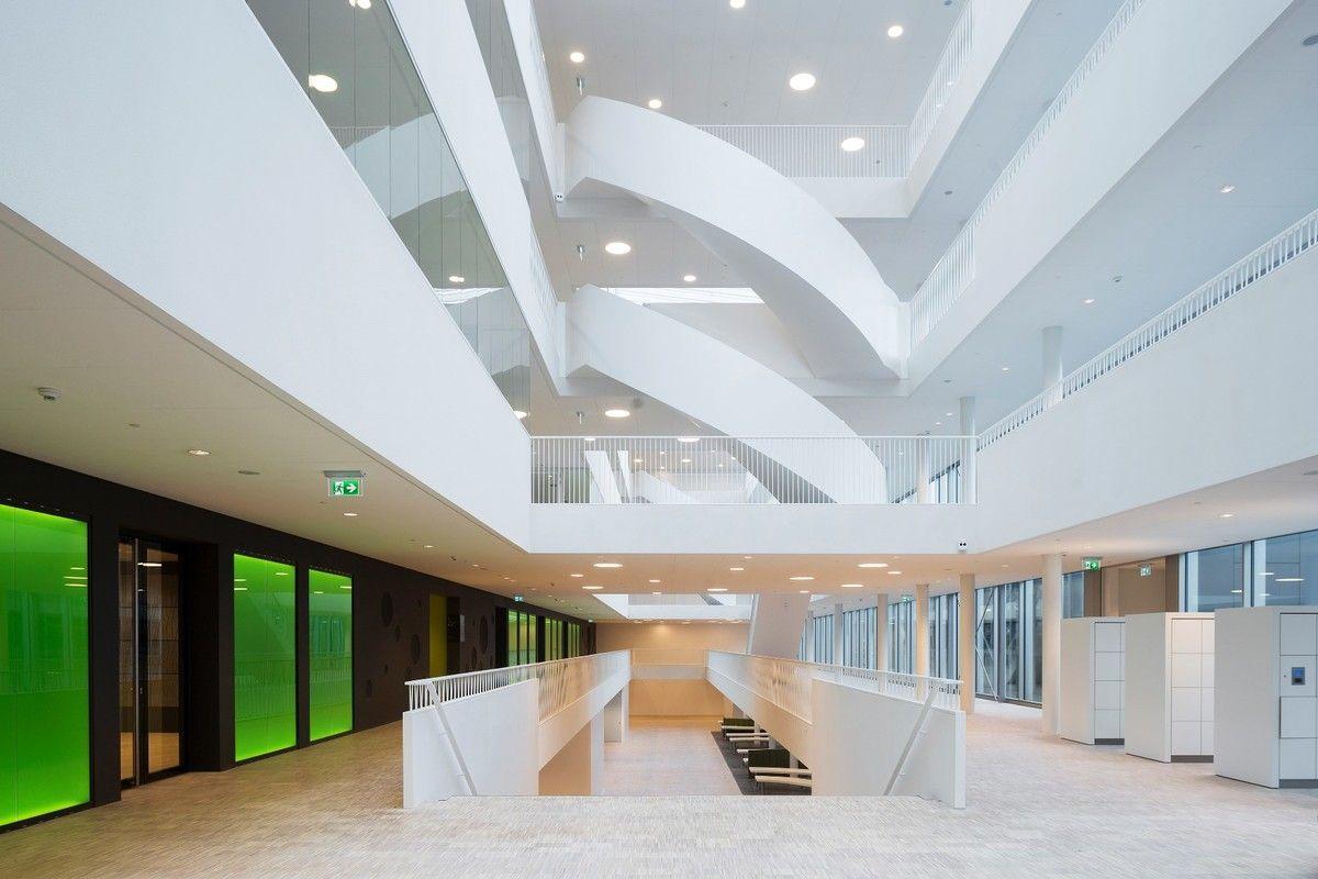 Bta Campus Leiden University The Netherlands By Inbo Atrium