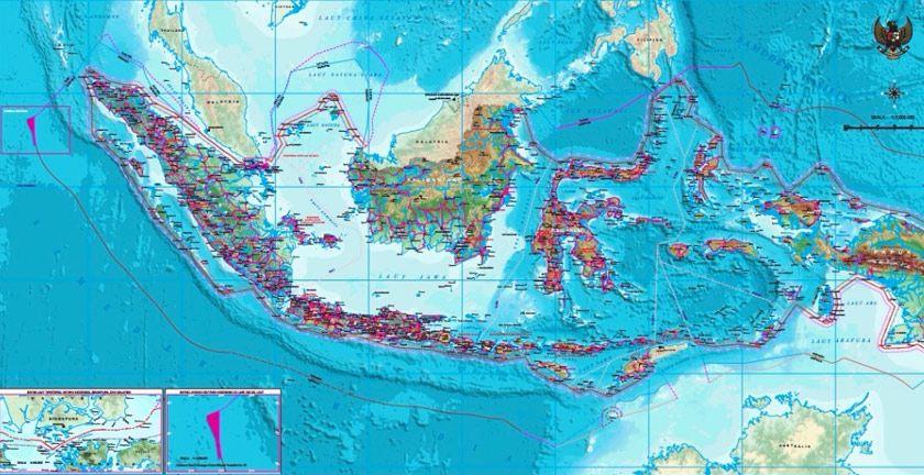 Peta indonesia dunia di atlas. Indonesia Telah Menerbitkan Peta Baru 2017 Mengesahkan Kedaulatan Dan Hak Berdaulatnya Ke Atas Beberapa Kawasan Maritim Antaranya Selat Peta Indonesia Gambar