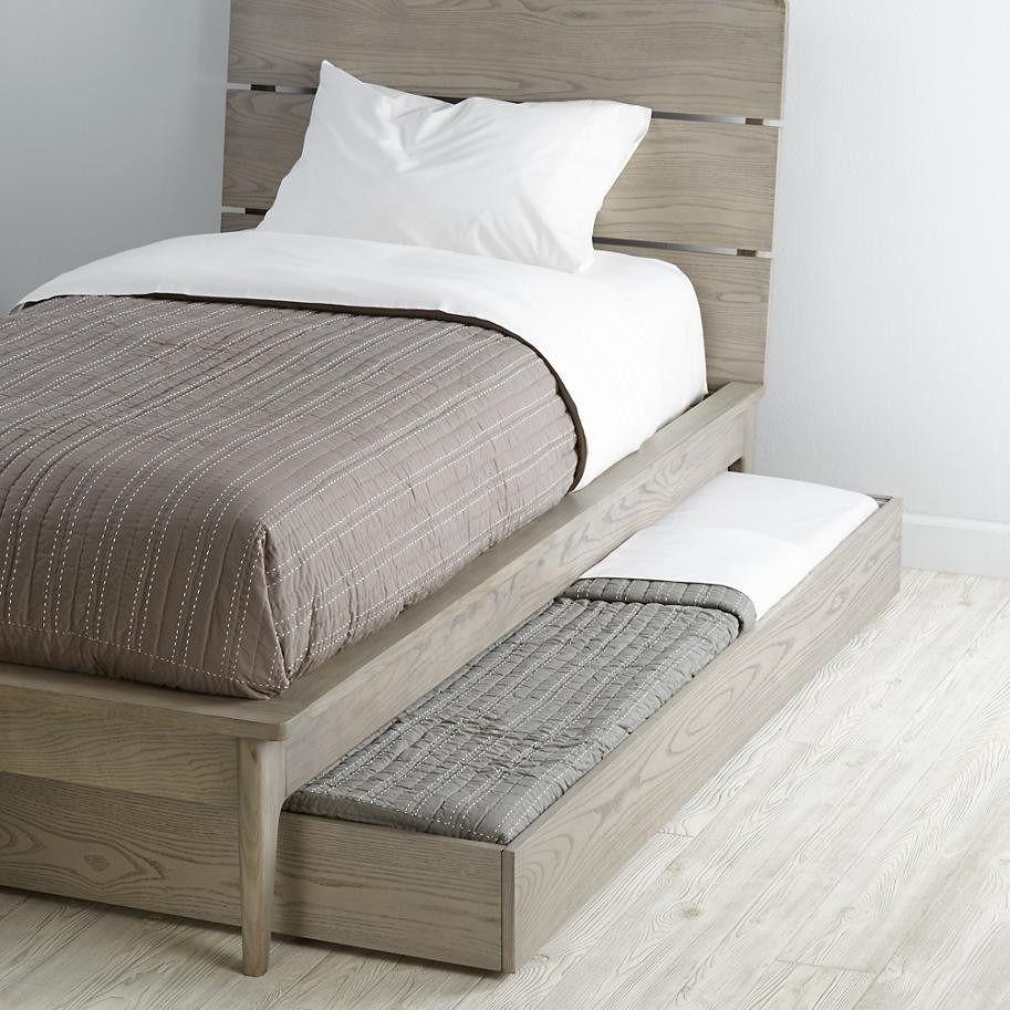 Base cama doble con cama o cajon bajo de madera individual for Base de cama