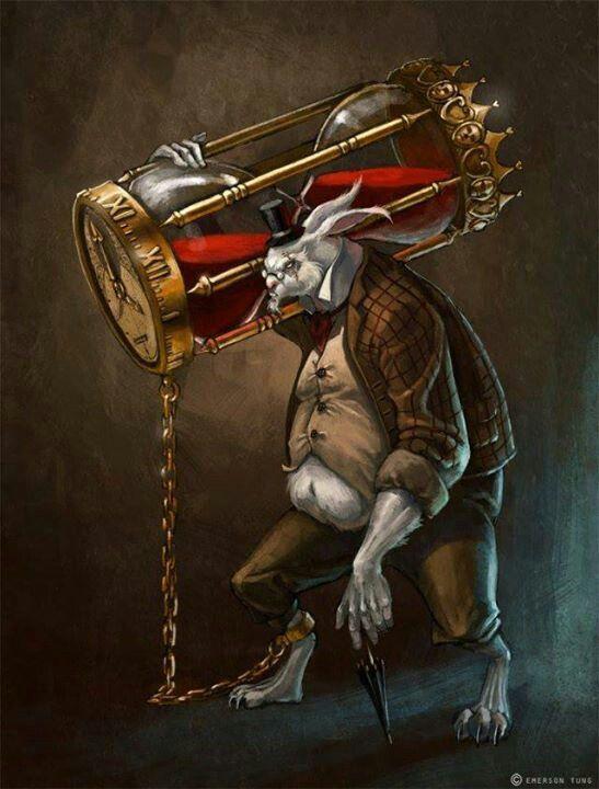Evil rabbit | White rabbit alice in wonderland, Alice in ... - photo#35