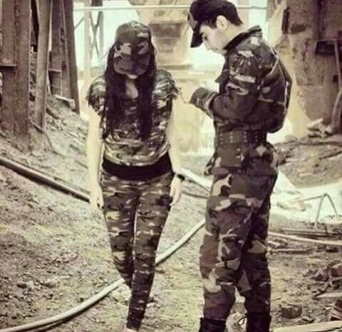 ❤❤Angel saru ❤❤ | army couple in 2019 | Army pics, Army