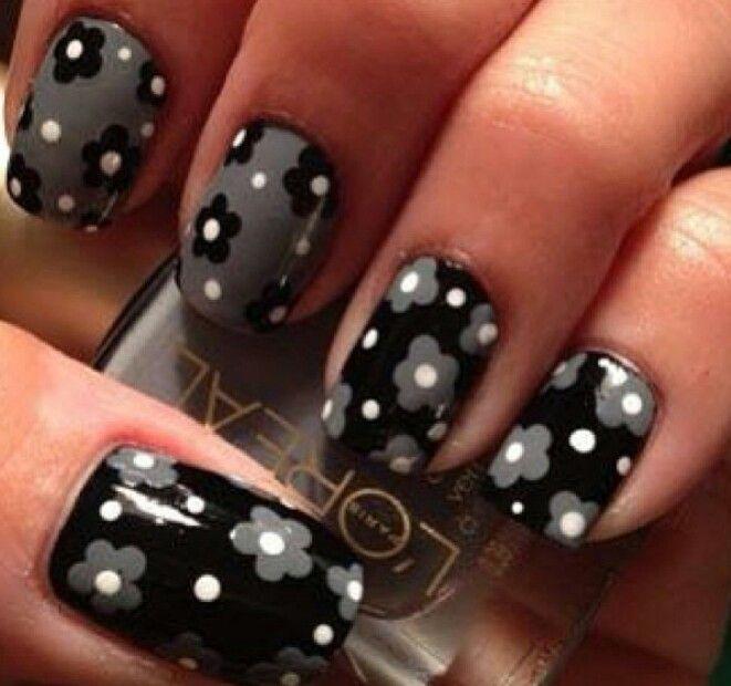 Flower Power | diseño uñas | Pinterest | Diseños de uñas, Manicuras ...