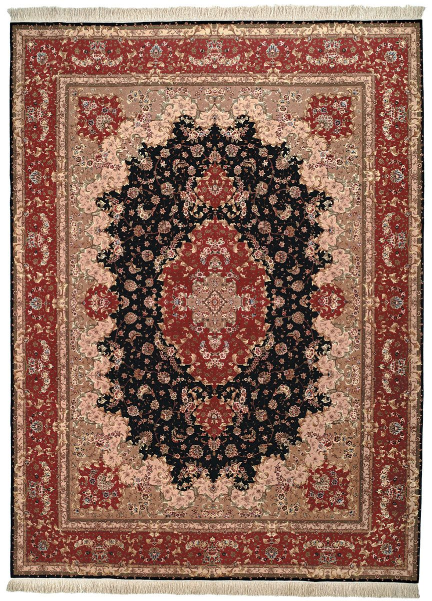Rug Tf47 Tabriz Floral Area Rugs By Suburban Retreat Pinterest