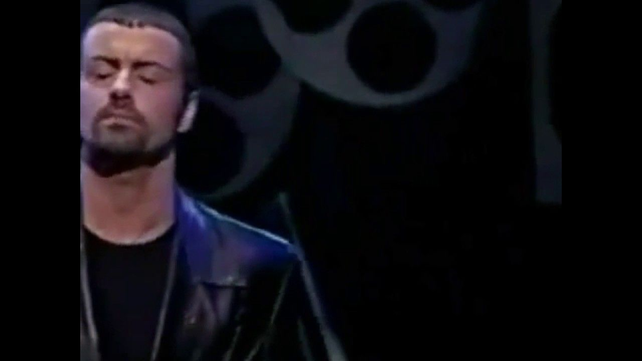 George Michael - Baby can I hold you (Live) Tracy Chapman cover