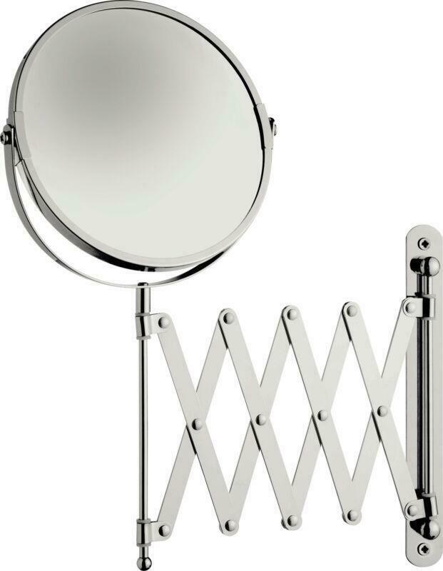 Shaving Mirror Wall Mounted Vanity, Tilting Bathroom Mirror Homebase