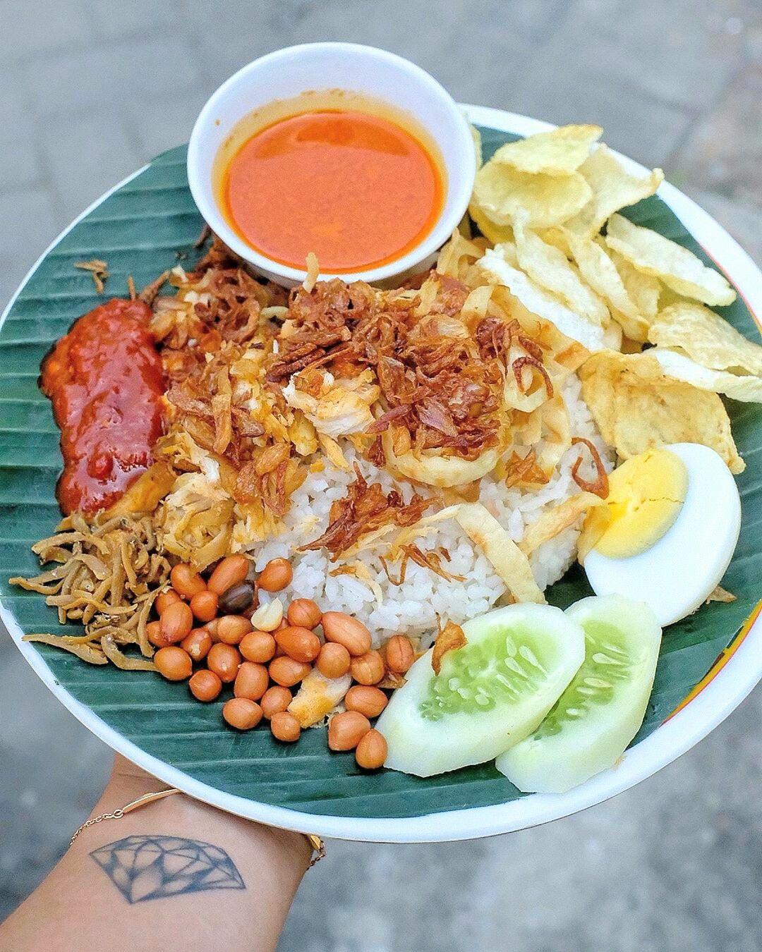 Nasi Gemuk Khas Jambi Makanan