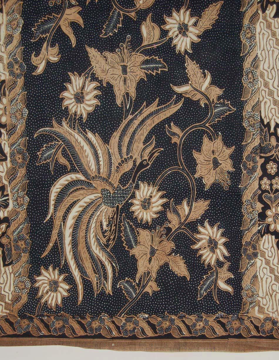 Mid Old Kain Batik Fabric Cloth Vintage Wax Dye Sarong Jawa