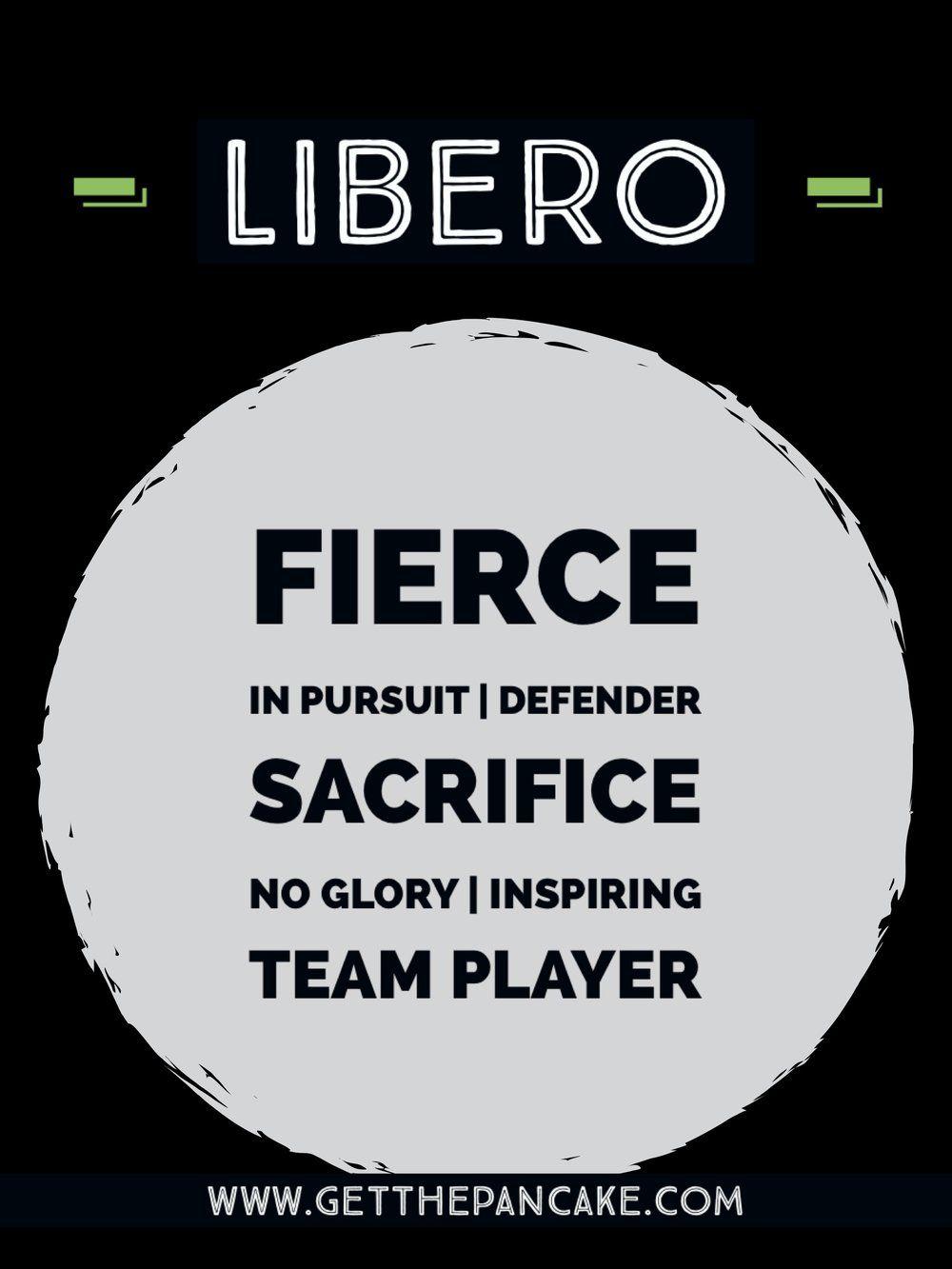 Volleyball Libero Description Volleyball Positions Volleyball Inspiration Volleyball Motivation