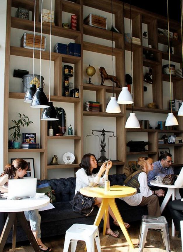Homelysmart 10 Cafe Wall Decor For Your Inspiration Homelysmart Coffee Shop Decor Coffee Shops Interior Cafe Decor