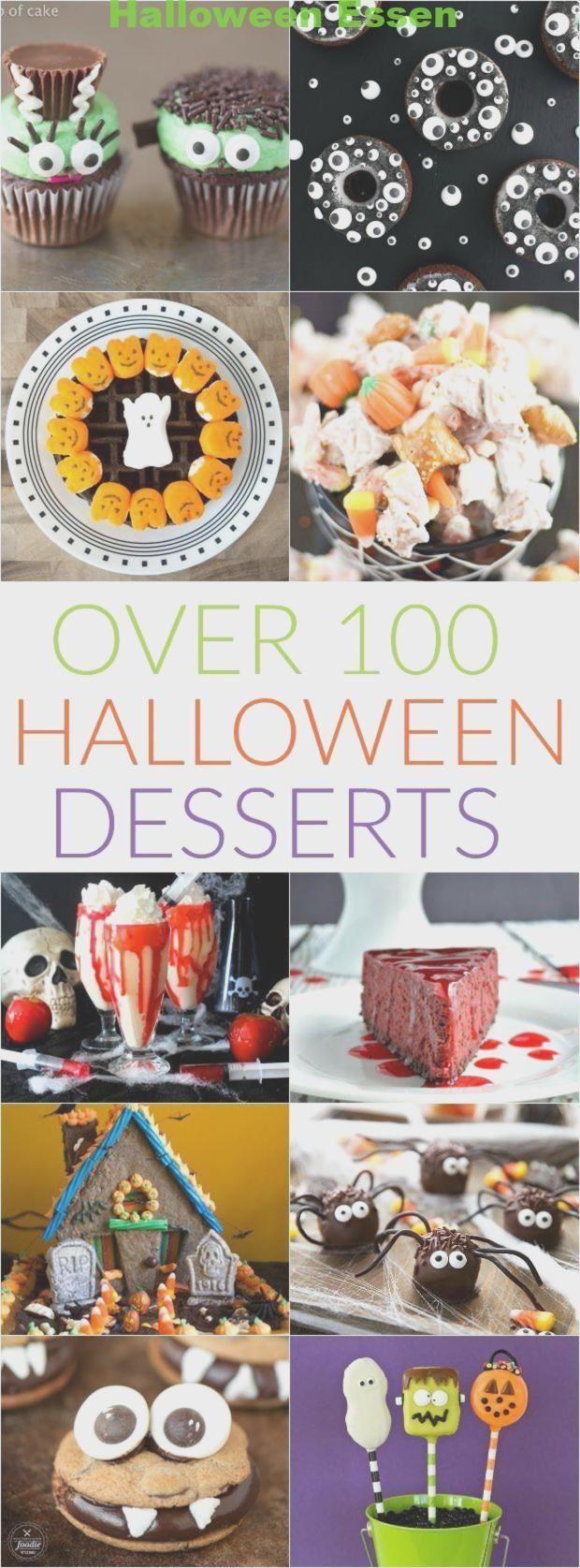 Über 100 HalloweenLeckereien halloween leckereien