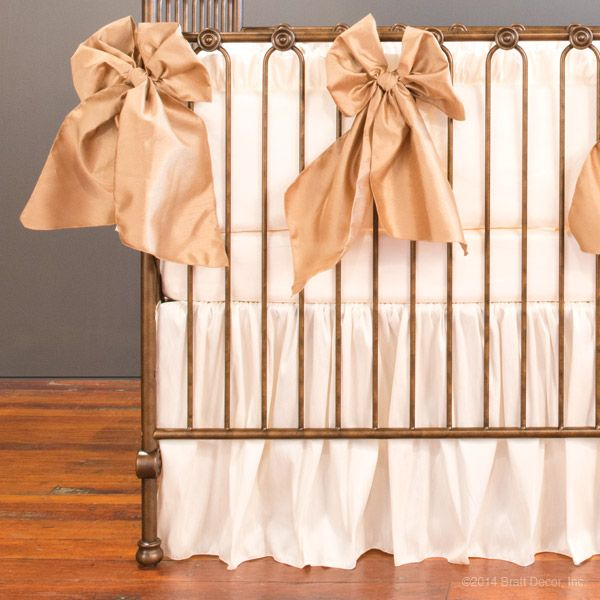 serafina 3 piece crib set - cream | Baby K\'s Nursery | Pinterest