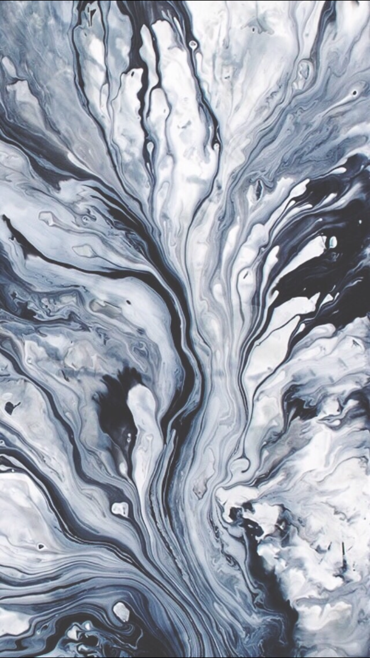 Grunge art marble paint iPhone wallpaper
