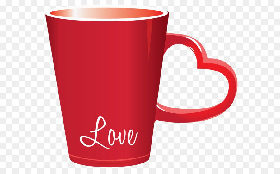 Cup Valentine S Day Heart Clip Art Red Valentine Love Cup Png Clipart Picture