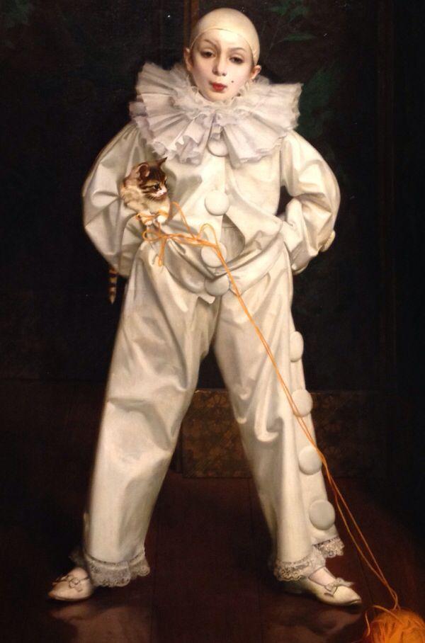vendita outlet acquisto speciale nuovo concetto V.Matteo Corcos -Ritratto di Bambino nel costume da Pierrot ...