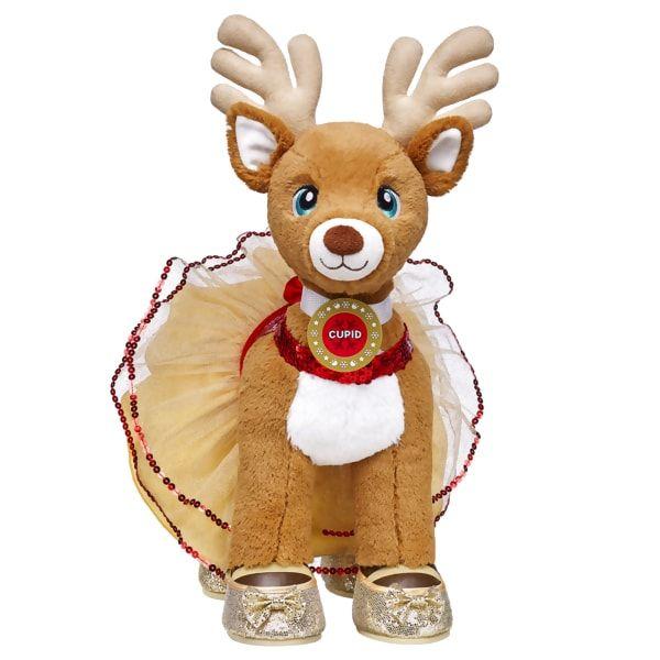 Santa S Reindeer Set Cupid Build A Bear Build A Bear Custom Teddy Bear Bear Stuffed Animal