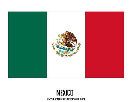 Free Printable Mexico Flag Download Pdf Printable Country Flags Flag Printable Mexico Flag Free Printables