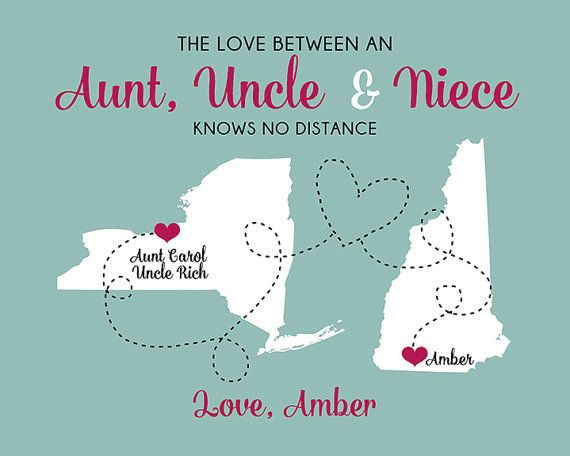 meet a few days away los angeles Gift for Aunt and Uncle, Custom Art Print Maps, Personalized ...