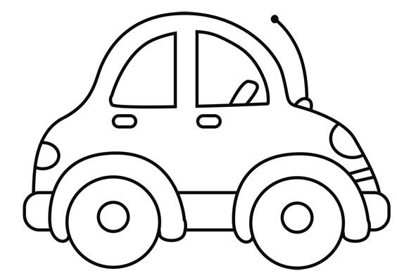carritos para colorear   Buscar con Google | carro | Coloring for