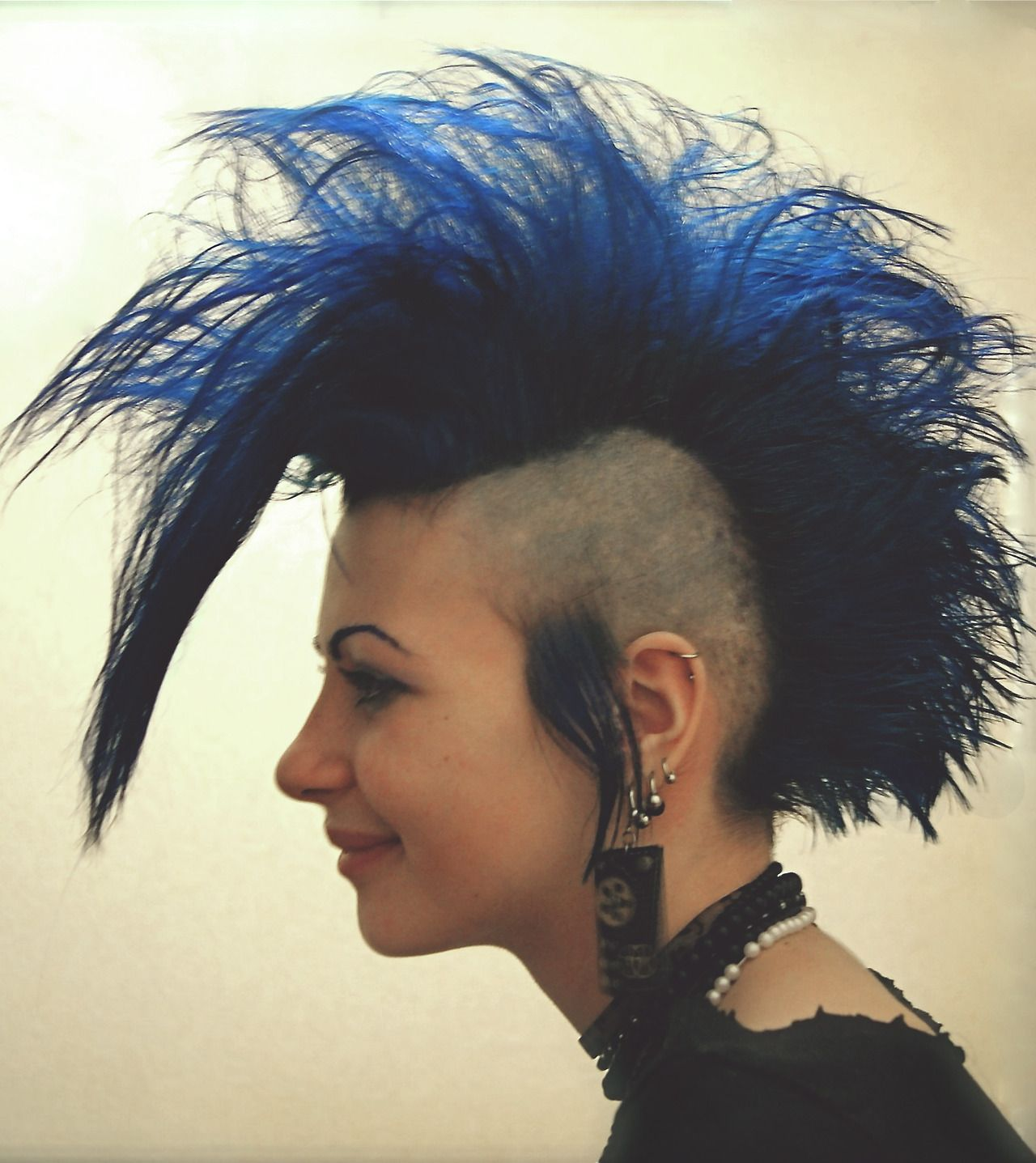 Pin by sharon balmer on alt style pinterest punk mohawks and wig