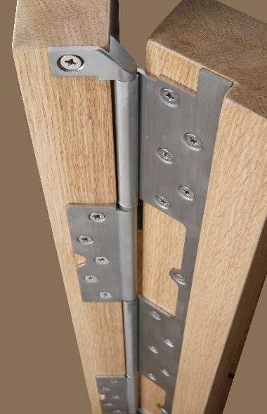 Cook Brothers Phoenix Interleaf Hinges   Heavy Duty Continuous Hinges    Reduce Gap From 12mm To 3mm