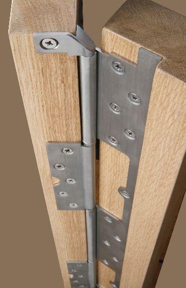 Cook Brothers Phoenix Interleaf Hinges Heavy Duty Continuous Hinges Reduce Gap From 12mm To 3mm Home Door Design Diy Door Sliding Barn Door Hardware