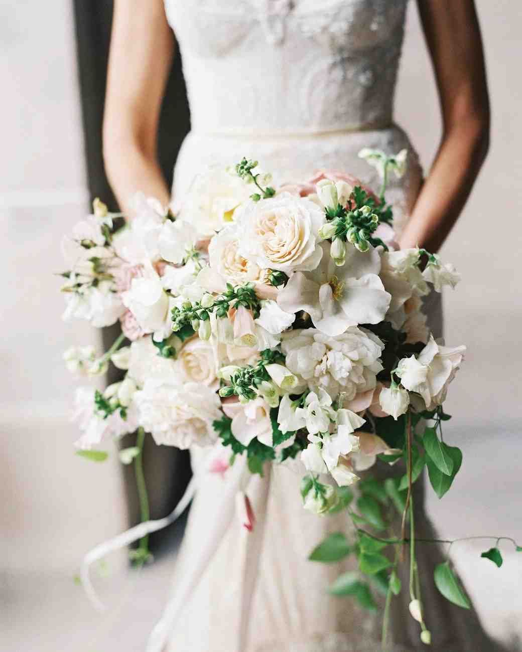 Garden Roses, Sweet Peas, Clematis, Foxgloves, and Rose Geraniums by Nicolette Camille