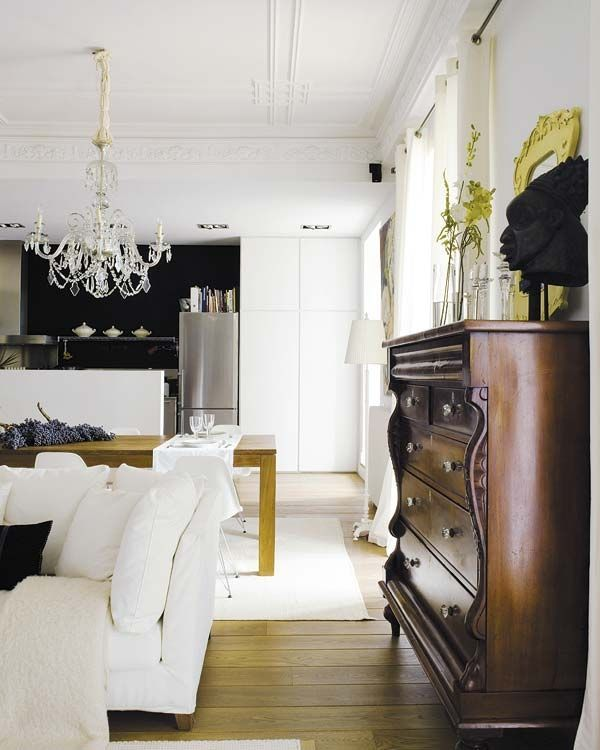 Risultati immagini per misto stile moderno antico living for Arredamento casa como