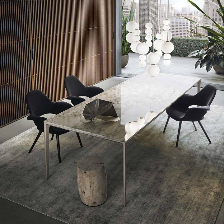 Rimadesio Product Long Island Table With Palladio