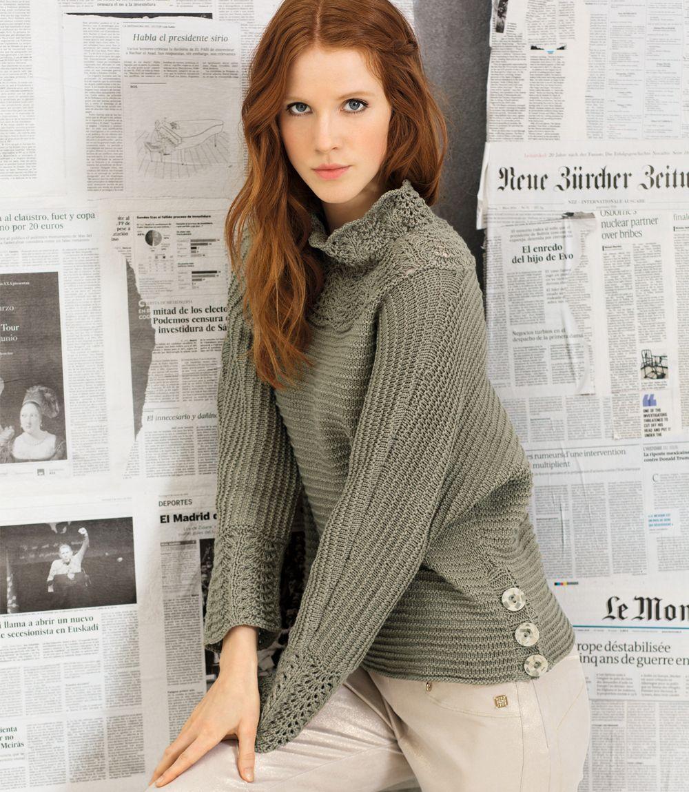 красивый свитер схема вязания