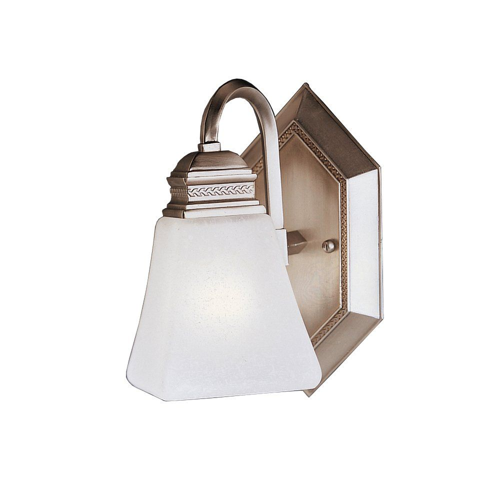 Kichler Lighting 5101ap Polygon Wall Sconce Antique Pewter