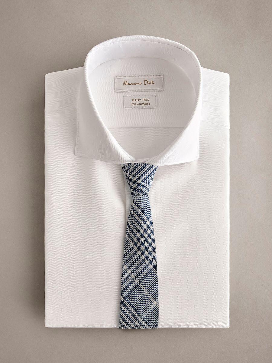 e2a5df046016 Check silk/linen/wool tie | Ties | Wool tie, Tie, Wool