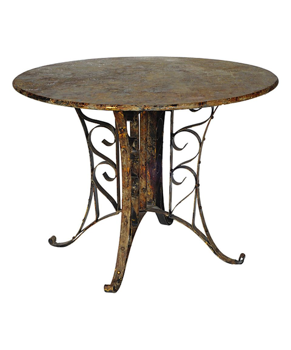 Look what i found on zulily metal scrollwork table by aub home