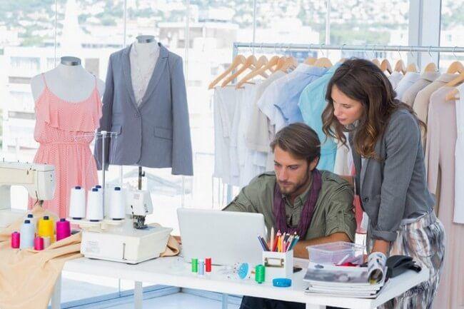Garment Merchandiser Works In Apparel Industry Fashion Design Apparel Merchandising Garment Industry