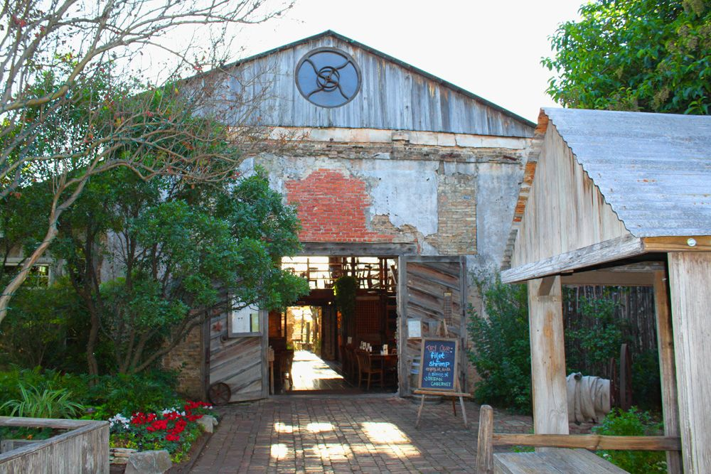 Gristmill River Restaurant Bar In New Braunfels Texas Was Selected By Aaa As A Favorite Historical Constructed 1878 Cotton Gin