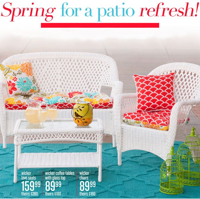 Create The Perfect Patio E With Furniture And Accessories From Gordmans Homedecor Outdoorliving